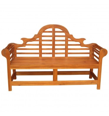 BE-53920 3-Seater Marlborough Bench | Oil Dipped