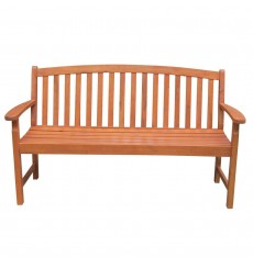 BE-53922 3-Seater Bench | Oil Dipped