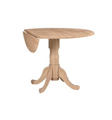 T-42DP Dropleaf Pedestal Table