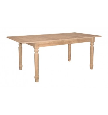 T-3660XB Farmhouse Butterfly Extension Table