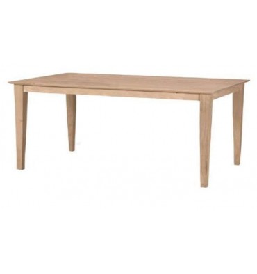 T-4072S Shaker Solid Top Table