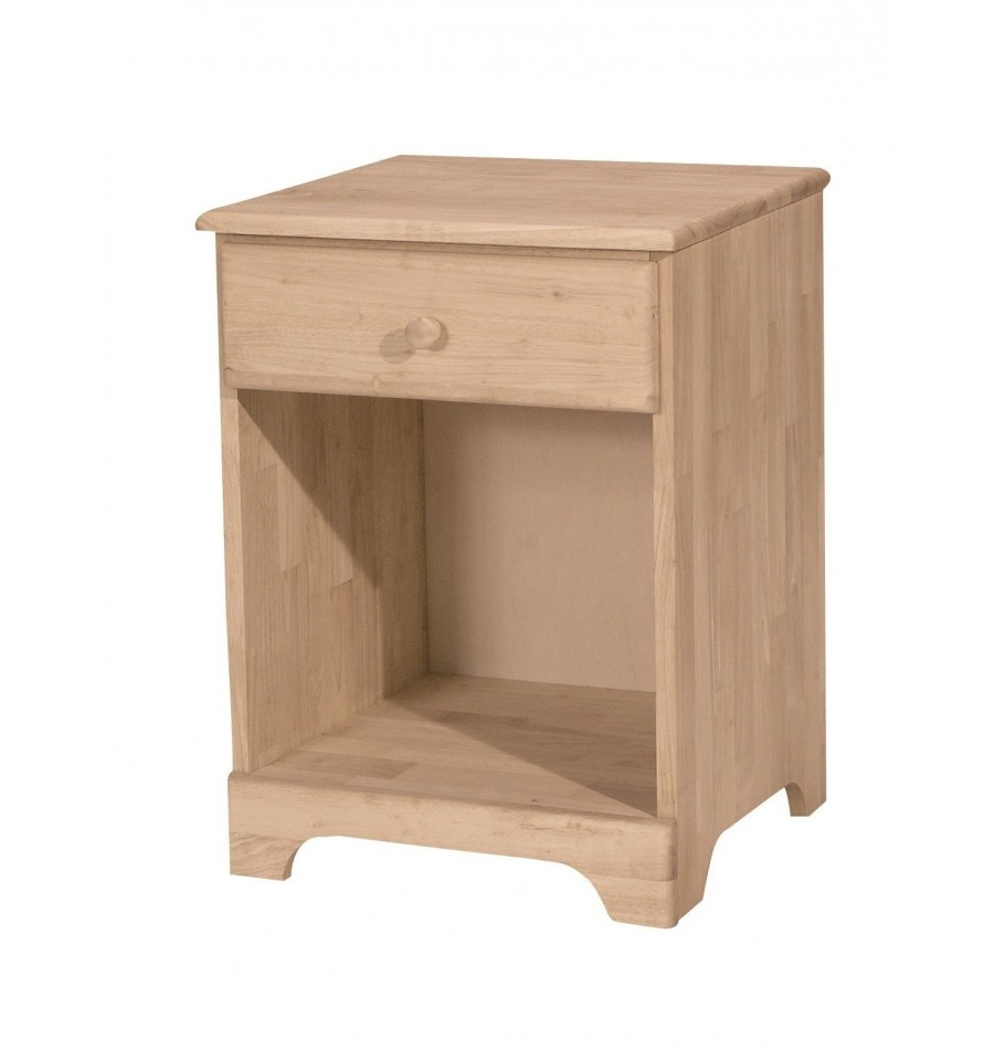 Bd 5001 jamestown 1 drawer nightstand wood 39 n things Things to use as nightstands