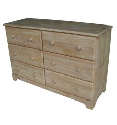 BD-5036 Jamestown 6-Drawer Dresser