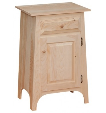 Slant Hall Cabinet - Drawer