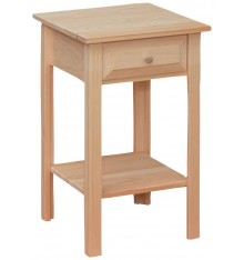 Side Table - Drawer - Med