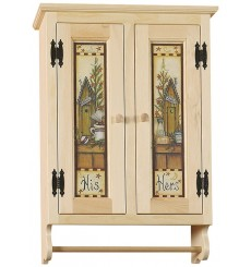 Wall Cabinet - Wide - Options