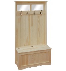 Hall Storage & Coat Bench - Options