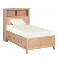 McKenzie Bookcase Storage Bed