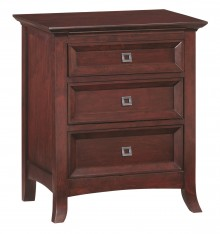 1108 Cascade 3 Drawer Nightstand