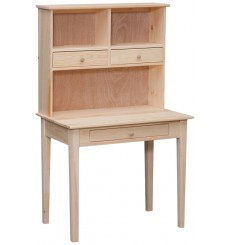 VR640 Writing Desk and Hutch