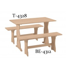 BE-4312 Trestle Bench