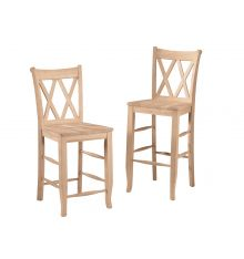 S-20 Double XX-Back Stools