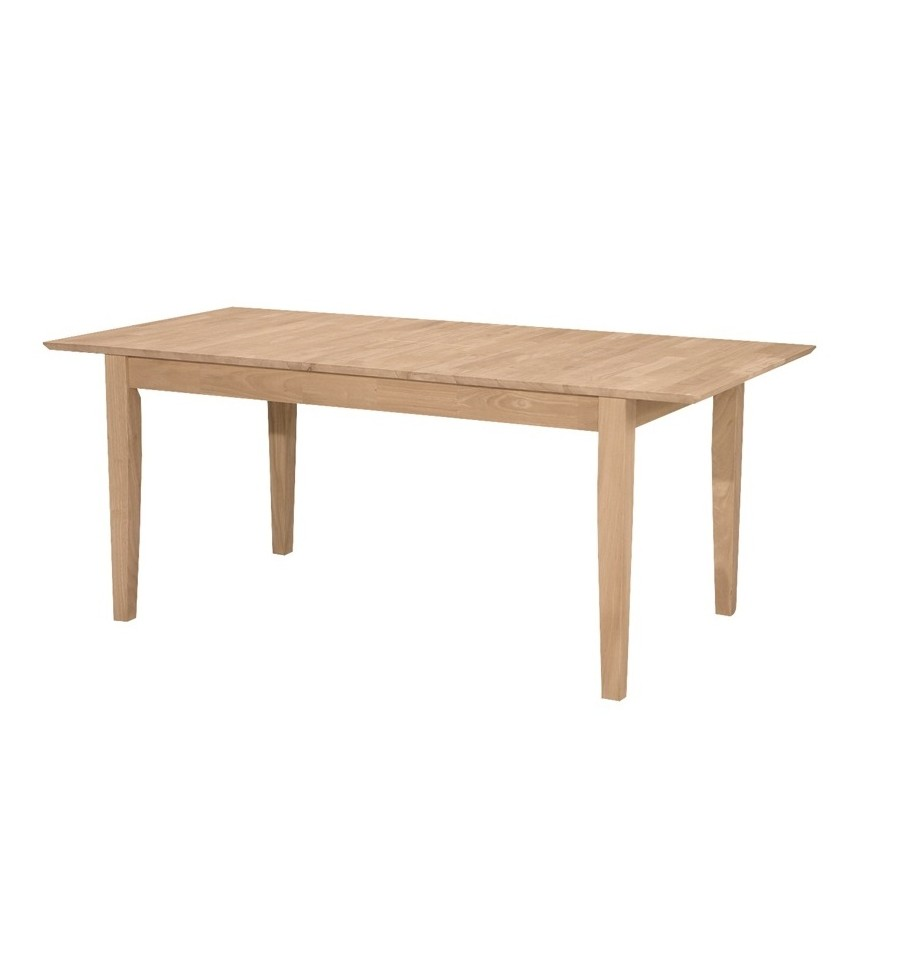 36x60 Shaker Butterfly Extension Dining Tables Wood 39 N