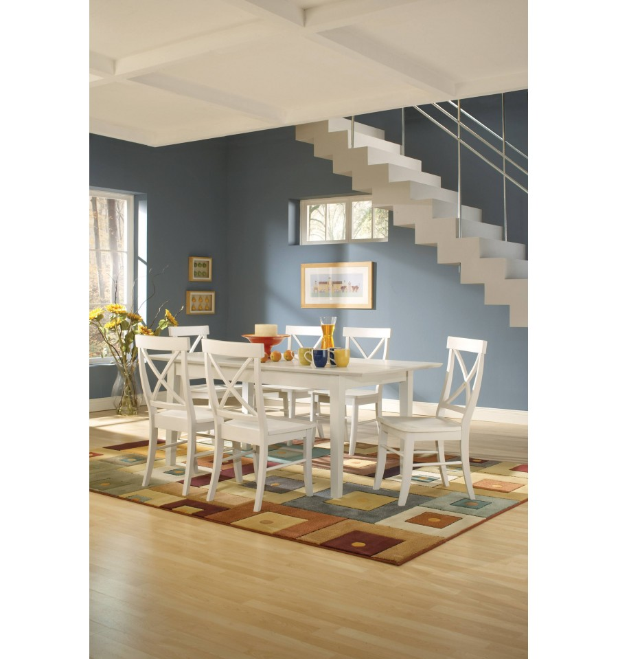 36x60 Shaker Butterfly Extension Dining Tables