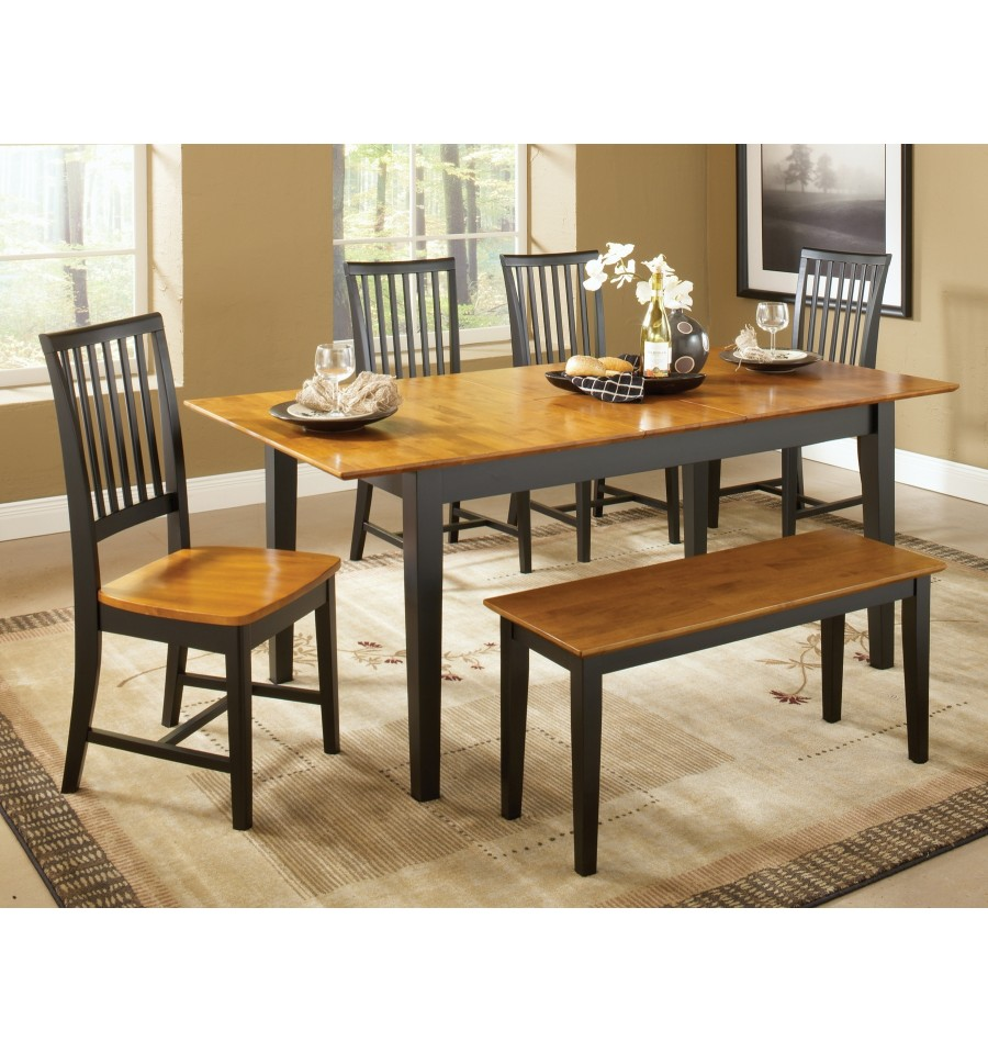 ... Shaker Dining Room Furniture 36x60 Shaker Butterfly Extension Dining  Tables Wood U0027n Things ...