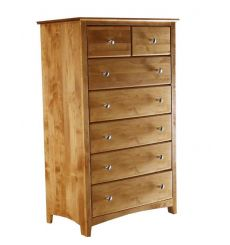 [33 Inch] Alder Shaker 7 Drawer Chest
