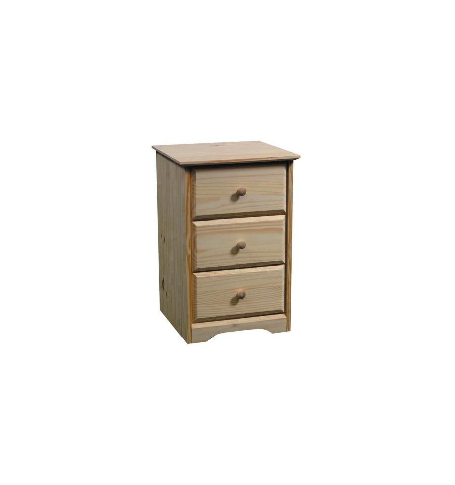 17 Inch Afc Shaker 3 Drawer Nightstand Wood 39 N Things