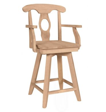 Empire Swivel Arm Stools