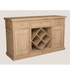 [60 Inch] Sturbridge Buffet - Wine Rack