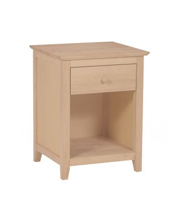 [18 Inch] Lancaster 1 Drawer Nightstand