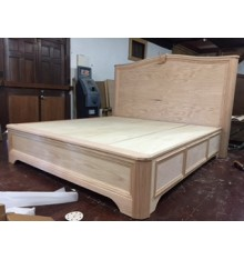 Custom Oak bed