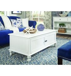 [19 Inch] Cottage Coffee Table w/ Doors