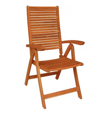 C-53936 5-Position Arm Chair   Oil Dipped