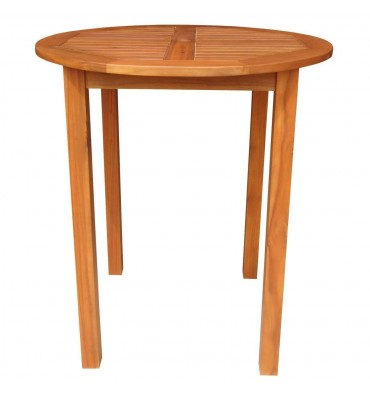 T-53926 Outdoor Gathering Table | 36R | Oil Dipped