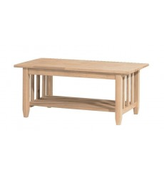 BJ6TC Mission Coffee Table