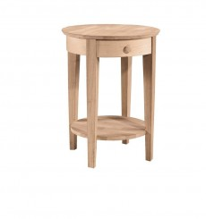 [21 Inch] Phillips Bedside Table (unfinished)