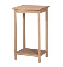 [29 Inch] Portman Tall Accent Table (unfinished)