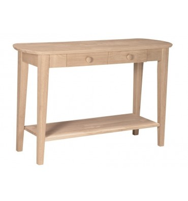 OT-5S Phillips Oval Sofa | Entry Table