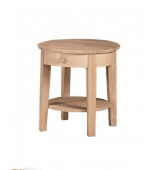 [21 Inch] Phillips End Table (unfinished)