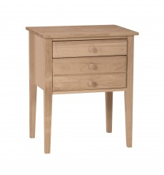 OT-66 2-Drawer Country Accent Table