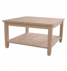 [32 Inch] Solano Square Coffee Table (unfinished)