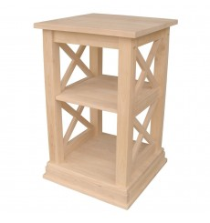 [16 Inch] Hampton Accent Table (unfinished)