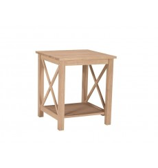 [22 Inch] Hampton End Table (unfinished)