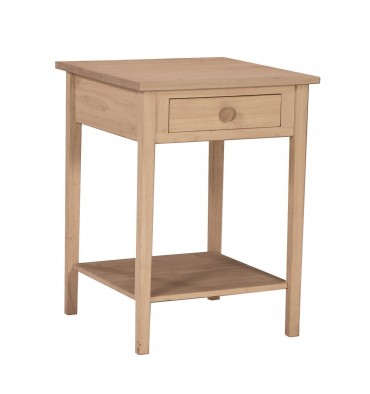 OT-91 Hampton Bedside Table with Drawer
