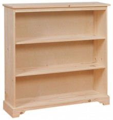 Primitive Bookshelf - 3 Tier - Options