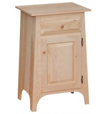 [20 Inch] Slant Hall Cabinet with Drawer