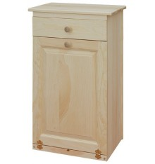 [19 Inch] Trash Bin with Drawer