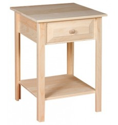 Side Table - Drawer - Large