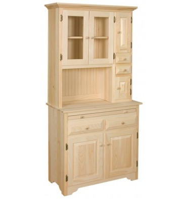 [35 Inch] Hoosier Cabinet (unfinished)