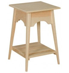 Small Shaker Slat Table