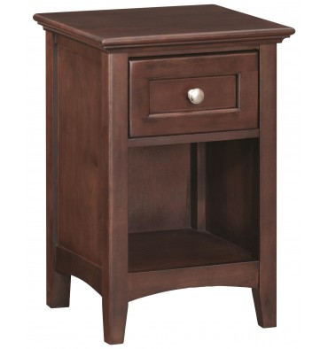 McKenzie 1 Drawer Nightstand (caffe)