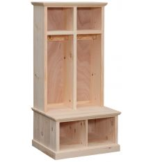 [32 Inch] Tall Double Sit & Store