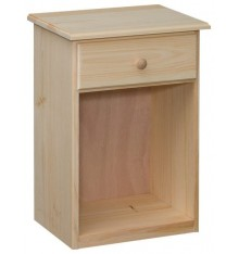 [17 Inch] Lehigh Short 1 Drawer Nightstand