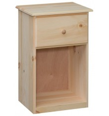 [17 Inch] Lehigh Tall 1 Drawer Nightstand