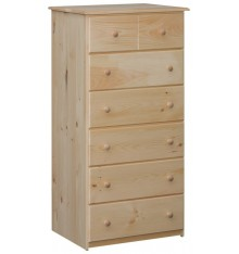 [27 Inch] Lehigh 6 Drawer Chest