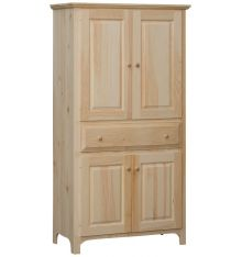 [38 Inch] Washington 4 Door 1 Drawer Pantry